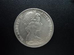 AUSTRALIE : 20 CENTS  1976  KM 66   SUP - Monnaie Décimale (1966-...)