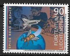 2002  Liechtenstein   Mi. 1291**MNH Teilnahme Des Liechtensteiner Gymnasiums Am NASA-Projekt - Liechtenstein