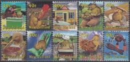 NUEVA ZELANDA 2000 Nº 1754/1763 USADO - Usados