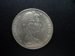 AUSTRALIE : 20 CENTS  1980  KM 66   SUP+ - Monnaie Décimale (1966-...)