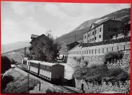 CP Train - LOECHE VILLE - Photo JL Rochaix - N° LLB 2 - VS Valais