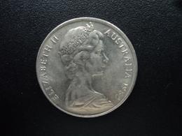 AUSTRALIE : 20 CENTS  1982  KM 66   SUP+ - Monnaie Décimale (1966-...)