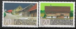 2002  Liechtenstein   Mi. 1294-5**MNH  Ortsbildschutz - Liechtenstein
