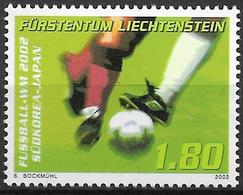 2002  Liechtenstein   Mi. 1296**MNH  Fußball-Weltmeisterschaft, Japan Und Südkorea - Liechtenstein