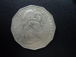AUSTRALIE : 50 CENTS  1971  KM 68   SUP - Monnaie Décimale (1966-...)