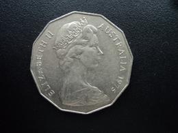 AUSTRALIE : 50 CENTS  1975  KM 68   SUP - Monnaie Décimale (1966-...)