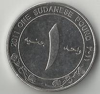 Sudan, 1 Pound 2011 - Soudan