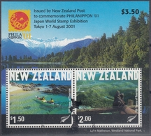 NUEVA ZELANDA 2001 Nº HB-150 USADO - Usados