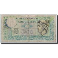 Billet, Italie, 500 Lire, 1979, 1979-04-02, KM:94, B+ - [ 2] 1946-… : Repubblica