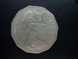 AUSTRALIE : 50 CENTS  1978  KM 68   SUP - Monnaie Décimale (1966-...)