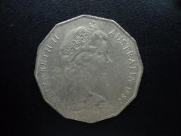 AUSTRALIE : 50 CENTS  1980  KM 68   SUP - Monnaie Décimale (1966-...)