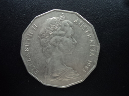 AUSTRALIE : 50 CENTS  1983  KM 68   SUP - Monnaie Décimale (1966-...)
