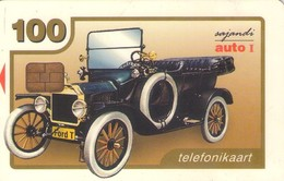 TARJETA TELEFONICA DE ESTONIA, TIRADA 20000 (083) COCHES - Estonia