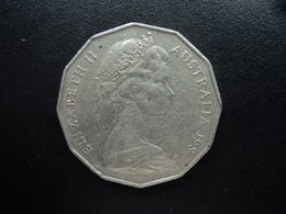 AUSTRALIE : 50 CENTS  1984  KM 68   SUP - Monnaie Décimale (1966-...)
