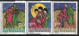 2002  Liechtenstein   Mi. 1304-6**MNH   Weihnachten: Batikarbeiten - Liechtenstein