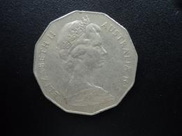 AUSTRALIE : 50 CENTS  1972  KM 68   SUP - Monnaie Décimale (1966-...)
