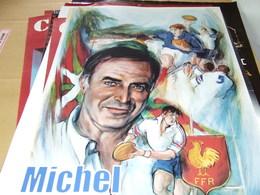 Affiche -  F  F De Rugby De Michel Etcheverry - Manifesti