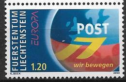 2003  Liechtenstein   Mi. 1310**MNH  Europa: Plakatkunst - Liechtenstein