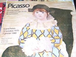 Affiche -  Oeuvre De Picasso Au Grand Palais De Paris 1979 - Manifesti