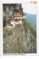 BHUTAN - TIGER'S NEST MONASTERY - Bhutan
