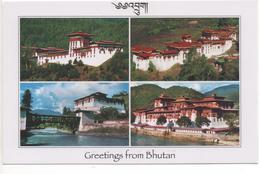 BHUTAN - DZONGS OF JAKAR, TRONGSA, PARO AND PUNAKHA - Bhutan