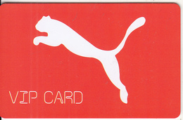 GREECE - PUMA, VIP Member Card, Unused - Ohne Zuordnung