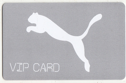 GREECE - PUMA, VIP Member Card, Unused - Other Collections