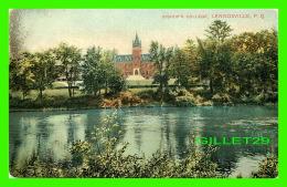 LENNOXVILLE, QUÉBEC - BISHOP'S COLLEGE - ÉCRITE EN 1914 -  MONTREAL IMPORT CO - - Quebec