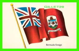 BERMUDES - BERMUDA ENSIGN - THE NATIONAL FLG OF BERMUDA - - Bermudes