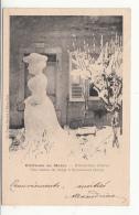39 - St-laurent-du-jura - Distraction D'hiver - Une Statue De Neige - France