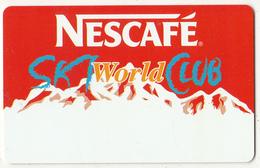 GREECE - Nescafe Ski World Club, Member Card, Unused - Ohne Zuordnung