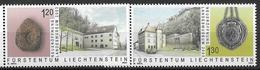 2003  Liechtenstein   Mi. 1319-20**MNH   Neueröffnung Des Liechtensteinischen Landesmuseums, Vaduz. - Liechtenstein