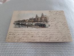 BLANKENBERGHE La Plage Et Le Kursaal    Oblitéré En 1899 - Blankenberge