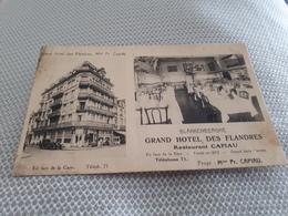 BLANKENBERGHE Grand Hôtel Des Flandres Restaurant Capiau - Blankenberge
