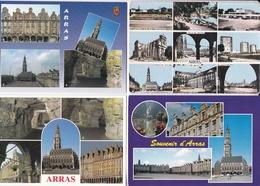 LOT  De  24  CPA,  CPSM  Et  CPM  De  ARRAS  (62)  //   TBE - Arras
