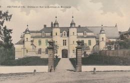 Houtain-le-Val , Chateau De Mad La Comtesse De Moerkerke ,(colorisée , Superbe ) - Genappe