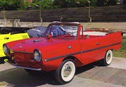 Amphicar 770  -  1964 Amphibious Car  -  CPM - Turismo