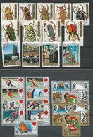 BURUNDI 4 Séries Complètes (28) O Cote 8,50 $ 1970-72 - 1970-79: Oblitérés