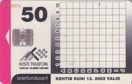 TARJETA TELEFONICA DE ESTONIA, (099) - Estonia