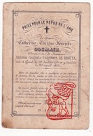 DP Adel Noblesse - Catherine Th. Odemaer ° Gent 1784 † 1862 X Antoine Aug. E. De Broëta (° Antwerpen 1787 † 1848) - Devotion Images