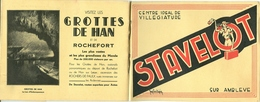 Guide Gids Stavelot (36 Blz) Avec Reclames De Stavelot (centre Ideal De Villegiature) - Stavelot