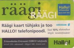 TARJETA TELEFONICA DE ESTONIA, TIRADA 50000 (102) - Estonia