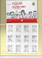4 SCANNERS -12 TIMBRES + 12 CARTES POSTALES - 12 STAMPS + 12 POSTCARDS - PORTUGAL - 2er. SÉRIE) - SPORT LISBOA E BENFICA - 1910-... République