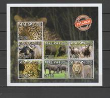 Malawi 2016 Endangered Animals Sheetlet MNH - Malawi (1964-...)