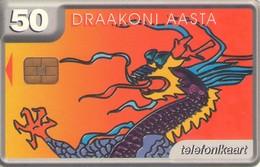 TARJETA TELEFONICA DE ESTONIA, TIRADA 40000 (107) - Estonia