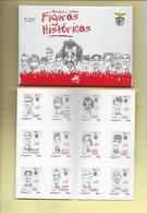 4 SCANNERS- 12 TIMBRES + 12 CARTES POSTALES - 12 STAMPS + 12 POSTCARDS - PORTUGAL - 3er. SÉRIE) - SPORT LISBOA E BENFICA - 1910-... République