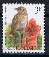 Belgie OCB 2705 (**) - 1985-.. Birds (Buzin)