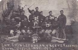 Carte Postale Photo Reserve Militaire Dieuze Dep 57 - Dieuze