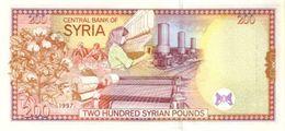 Syria P.109 200  Pounds 1997 Unc - Siria