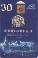 TARJETA TELEFONICA DE ESTONIA, (112) - Estonia